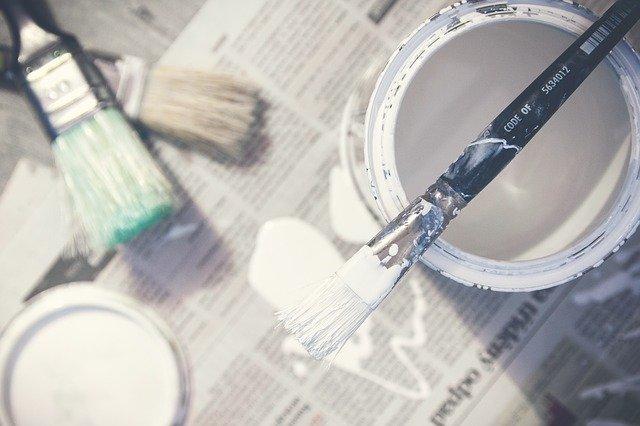 Pinta los armarios de la cocina